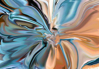 Digital Art - Splash by Phillip Mossbarger
