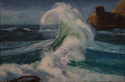 Painting - Splash by Rosencruz  Sumera