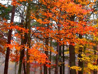 Painting - Splashes Of Autumn by Paul Sachtleben