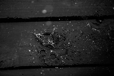 Photograph - Splashes On Deck by Digiblocks Photography