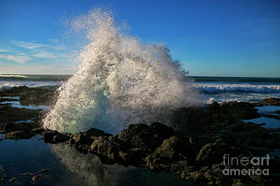 Photograph - Splashing The Coast by Billie-Jo Miller