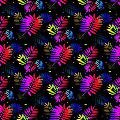 Digital Art - Splashy Tropics by Kathleen Sartoris