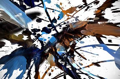 Digital Art - Splatter Gig by Margie Chapman