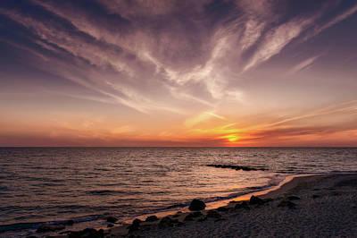 Photograph - Splendid Florida Gulf Coast Sunset  -  Floridagulfcoastsunset167514 by Frank J Benz