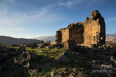 Photograph - Splendid Ruins Of St. Grigor Church In Karashamb, Armenia by Gurgen Bakhshetsyan