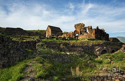 Photograph - Splendid Ruins Of St. Sargis Monastery In Ushi, Armenia by Gurgen Bakhshetsyan
