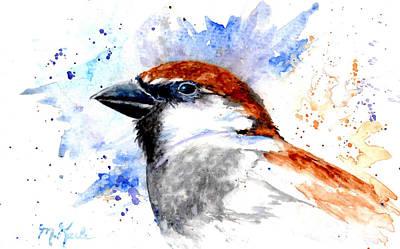 Splendid Sparrow Art Print