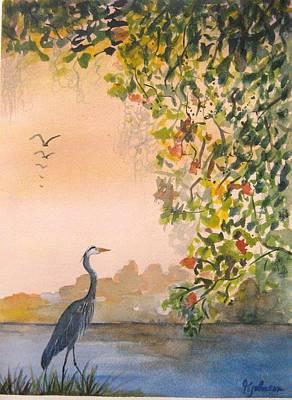 Splendor In The Grass Art Print by Georgia Johnson