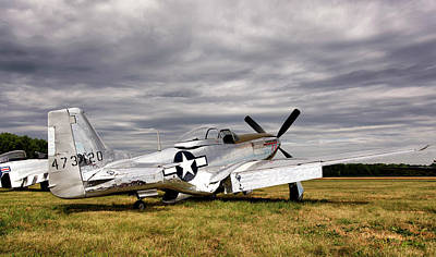 P-51 Mustang Photograph - Splendor In The Grass by Peter Chilelli
