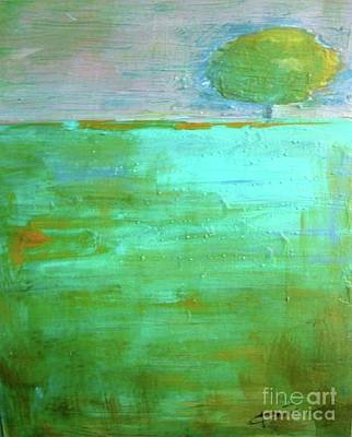 Tree Abstracts Drawing - Splendor In The Grass  by Vesna Antic