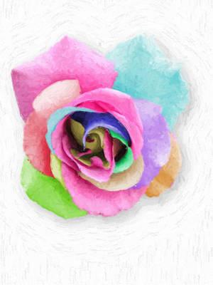 Robert Matson Digital Art - Splendor Rose by Robert Matson