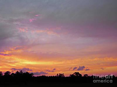 Photograph - Splendorous Sunset Sky by Expressionistart studio Priscilla Batzell