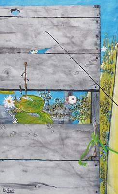 Sports Bar Decor Painting - Splice The Mainbrace by Michael Dillon