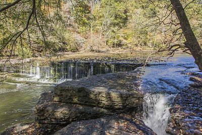 Photograph - Splinter Falls by Ricky Dean