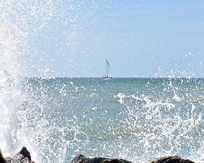 Photograph - Splish Splash by Carol Bradley