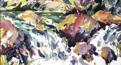 Painting - Splish Splash by Rae Andrews
