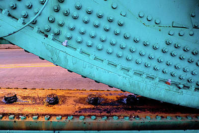 Photograph - Cass Street Bascule  Machinery by John McArthur