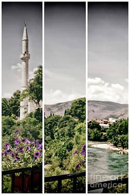 Split Landscape Art Print