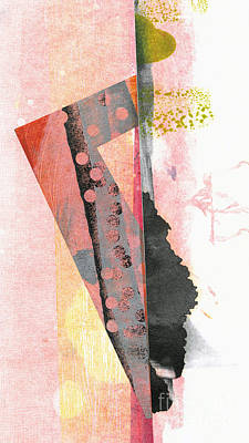 Printmaking Mixed Media - Split Personality by Kelley Albert