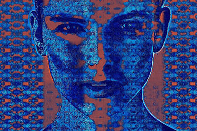 Mixed Media -  Split Personality Psychology by Femina Photo Art By Maggie