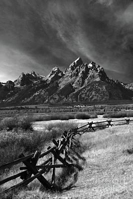 Split Rail Fence Photograph - Split Rail Fence by Timothy Johnson