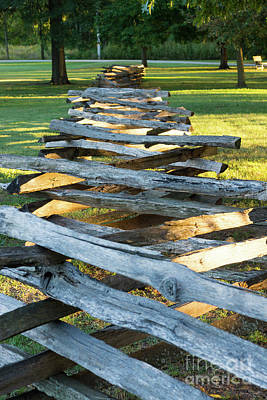 Photograph - Split Rail Zig Zag by Jennifer White