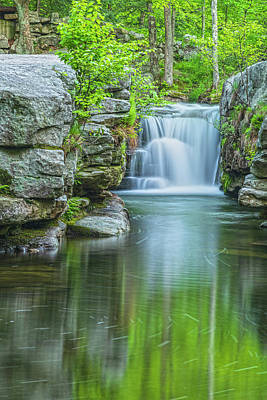 Photograph - Split Rock Falls Nirvana Vertical by Angelo Marcialis