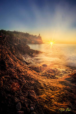 Photograph - Split Rock Glory by Rikk Flohr
