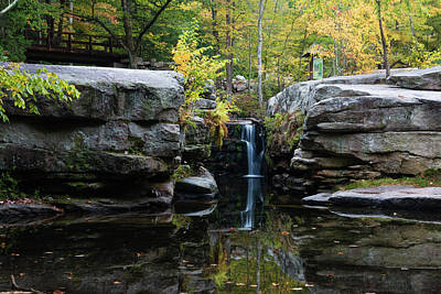 Photograph - Split Rock In October #1 by Jeff Severson