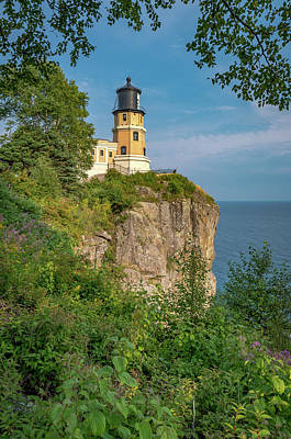 Photograph - Split Rock Lighthouse by Gary McCormick
