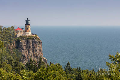 Photograph - Split Rock Lighthouse by Jim West