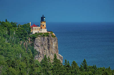 Photograph - Split Rock Lighthouse View by Gary McCormick