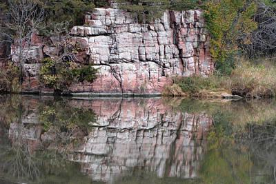 Split Rock State Park Near Garritson South Dakota Art Print