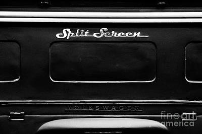Photograph - Split Screen by Tim Gainey