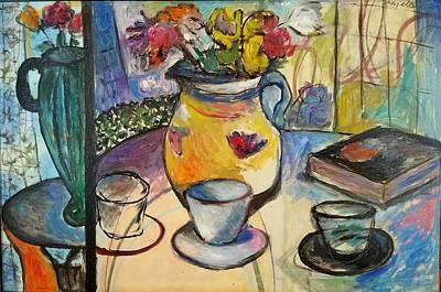 Painting - Split Stille' by Mykul Anjelo