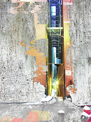 Mixed Media - Split by Tony Rubino