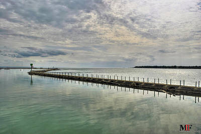 Photograph - Split Waters by Michael Frank Jr
