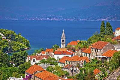 Photograph - Splitska Bay On Brac Island View by Brch Photography