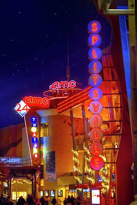 Splitsville Lanes Disney Springs Art Print by Mark Andrew Thomas
