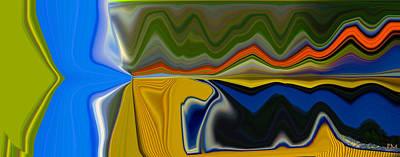 Digital Art - Splitting  by Phillip Mossbarger