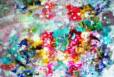 Painting - Splotches by Don Wright