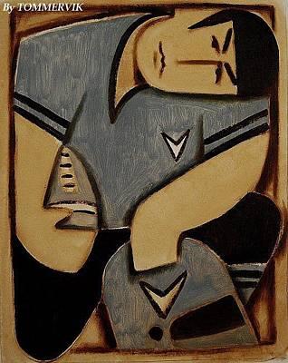 Spock Football Player Painting Original