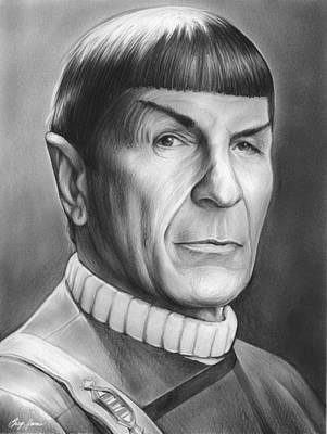 Spock Print by Greg Joens