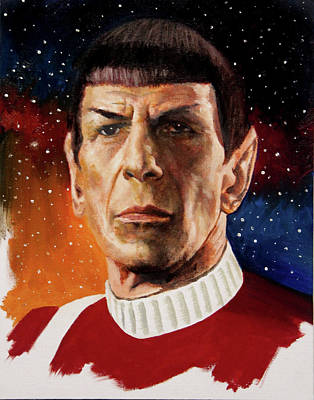 Painting - Spock by Murry Whiteman