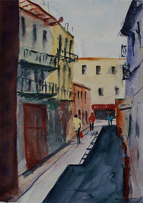 Painting - Spofford Street2 by Tom Simmons
