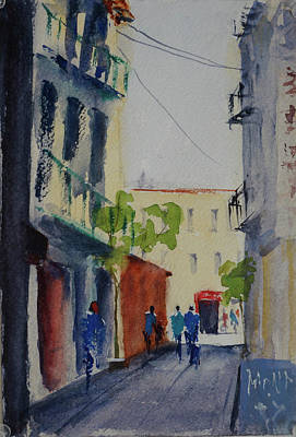 Painting - Spofford Street3 by Tom Simmons