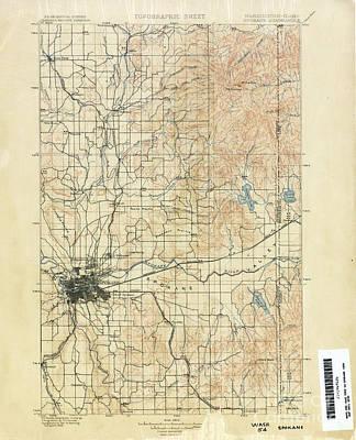 Spokane  Art Print