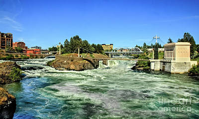 Photograph - Spokane Falls by Robert Bales