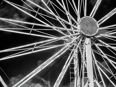 Photograph - Spokes by Greg Nyquist