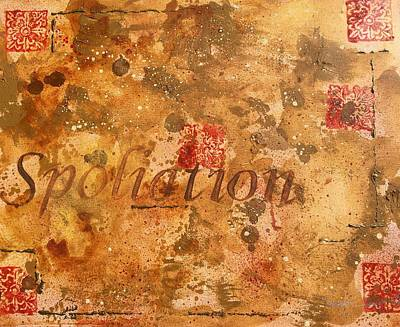 Painting - Spoliation by Laura Pierre-Louis